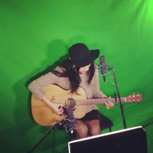 Grabando en Univision